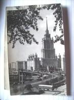 Rusland Russia CCCP USSR  Moscou Moscov Mockba Ukraina Hotel - Russie