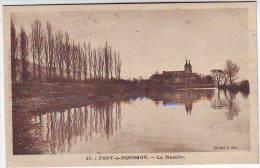 54. PONT A MOUSSON. LA MOSELLE. - Pont A Mousson