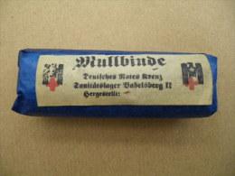 Mullbinde  Compresse Allemande (bleue) WWII - Equipement