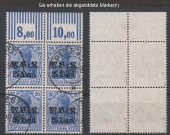 Militärverwaltung In Rumänien,6a,OR W 3.7.3 + 2.9.2,o,gep.(3571) - Besetzungen 1914-18