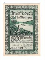 **notgeld Lorch   50 Pf     815.3c/2 - [11] Emissions Locales