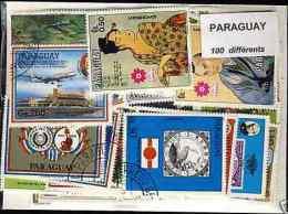 PARAGUAY, Lot De 100 Timbres Tous Differents Neufs Et Oblitérés. Satisfaction Assurée - Paraguay