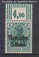 Militärverwaltung In Rumänien,8a,OR W 3.7.3,xx (3571) - Besetzungen 1914-18
