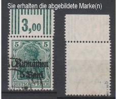 Militärverwaltung In Rumänien,8b,OR W 3.7.3,o,gep. (3571) - Besetzungen 1914-18