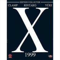 X 1999  Film *** Edition Collector  Clamp  Rintaro  Yurki - Manga