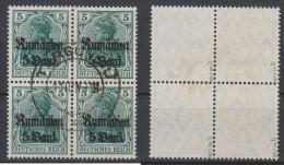 Militärverwaltung In Rumänien,8b,VB,o,gep. (3571) - Besetzungen 1914-18