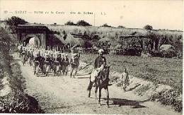 MAROC RABAT Défilé De La Garde Du Sultan - Rabat