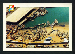 TOGO - Fishing Port (port De Peche) Used Postcard Mailed To The UK As Scans - Togo