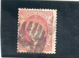 ESPAGNE 1870 O - Used Stamps