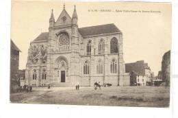 R-940 RENNES égise Notre Dame De Bonne Nouvelle . A.G. 68.  Prise De La Rue Saint Louis. Toit Facade Coupé