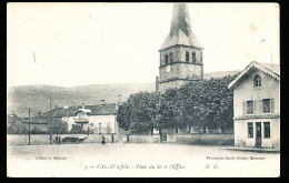 88 VAL D'AJOL / Place Du Sô Et L'Eglise / - Autres Communes