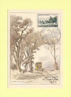 Journee De Timbre - Paris - 8-3-1952 - Maximumkarten