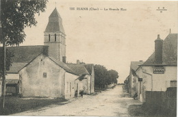 Rians 106 La Grande Rue EMB Pub Byrrh Vin Tonique Quinquina - Other Municipalities