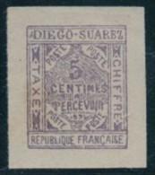 1891.   DIEGO-SUAREZ    (Colonie Française)    Lot  N° 11 .  2013 - Unused Stamps