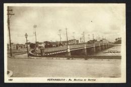 PERNAMBUCO (Brazil) - Avenida Martins De Barros - Recife