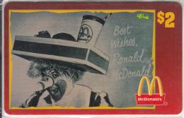 "USA - McDonald""s(48/50), Sprint Promotion Prepaid Card, Tirage 6100, 05/96, Mint - United States"