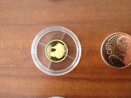 Liberia 2000 Jeanne D'arc France   25 Dollars Or Gold 0.999 Poid 0g73 - Liberia