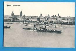 CP, Allemagne, MAINZ RHEINPARTIE, Voyagé En 1921 - Mainz