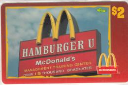 "USA - McDonald""s(43/50), Sprint Promotion Prepaid Card, Tirage 6100, 05/96, Mint - United States"