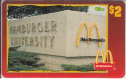 "USA - McDonald""s(42/50), Sprint Promotion Prepaid Card, Tirage 6100, 05/96, Mint"