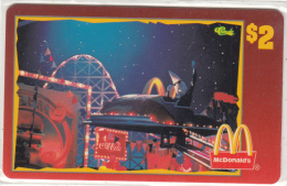"USA - McDonald""s(39/50), Sprint Promotion Prepaid Card, Tirage 6100, 05/96, Mint"