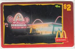 "USA - McDonald""s(35/50), Sprint Promotion Prepaid Card, Tirage 6100, 05/96, Mint"