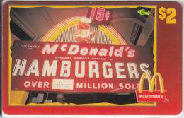 "USA - McDonald""s(34/50), Sprint Promotion Prepaid Card, Tirage 6100, 05/96, Mint"