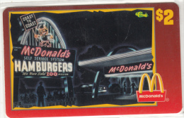 "USA - McDonald""s(33/50), Sprint Promotion Prepaid Card, Tirage 6100, 05/96, Mint"