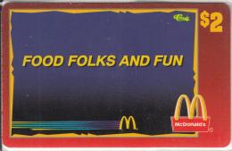 "USA - McDonald""s(32/50), Sprint Promotion Prepaid Card, Tirage 6100, 05/96, Mint - United States"