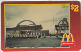 "USA - McDonald""s(27/50), Sprint Promotion Prepaid Card, Tirage 6100, 05/96, Mint"