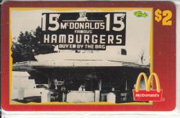 "USA - McDonald""s(26/50), Sprint Promotion Prepaid Card, Tirage 6100, 05/96, Mint"