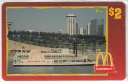 "USA - McDonald""s(21/50), Sprint Promotion Prepaid Card, Tirage 6100, 05/96, Mint - United States"