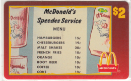 "USA - McDonald""s(19/50), Sprint Promotion Prepaid Card, Tirage 6100, 05/96, Mint"