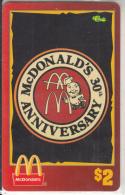 "USA - McDonald""s(18/50), Sprint Promotion Prepaid Card, Tirage 6100, 05/96, Mint - United States"