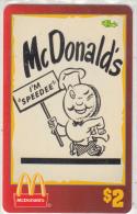"USA - McDonald""s(17/50), Sprint Promotion Prepaid Card, Tirage 6100, 05/96, Mint"