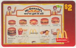 "USA - McDonald""s(15/50), Sprint Promotion Prepaid Card, Tirage 6100, 05/96, Mint"