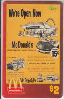 "USA - McDonald""s(14/50), Sprint Promotion Prepaid Card, Tirage 6100, 05/96, Mint"