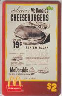 "USA - McDonald""s(12/50), Sprint Promotion Prepaid Card, Tirage 6100, 05/96, Mint"