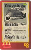 "USA - McDonald""s(11/50), Sprint Promotion Prepaid Card, Tirage 6100, 05/96, Mint"