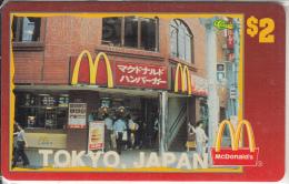 "USA - McDonald""s(10/50), Sprint Promotion Prepaid Card, Tirage 6100, 05/96, Mint"