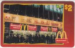 "USA - McDonald""s(07/50), Sprint Promotion Prepaid Card, Tirage 6100, 05/96, Mint"