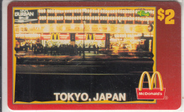 "USA - McDonald""s(06/50), Sprint Promotion Prepaid Card, Tirage 6100, 05/96, Mint"