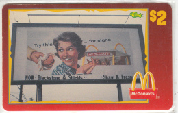 "USA - McDonald""s(05/50), Sprint Promotion Prepaid Card, Tirage 6100, 05/96, Mint - United States"