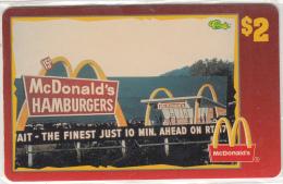 "USA - McDonald""s(02/50), Sprint Promotion Prepaid Card, Tirage 6100, 05/96, Mint - United States"