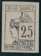 1890.   DIEGO-SUAREZ    (Colonie Française)    Lot  N° 22 .  2013 - Unused Stamps