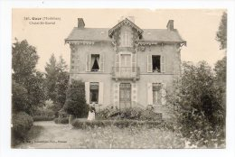 CPA 56 GUER Chalet St Gurval - Guer Coetquidan