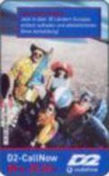 Germany - DM 50 Prepaidcard - 2001-05-01 - D2-CallNow - D2 Vodafone - Familie Mit Badesachen - Due Date 08.03 - V 31 - Deutschland