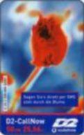 Germany - DM 50 Prepaidcard - 2001-02-01 - D2-CallNow - D2 Vodafone - Sagen Sie's Direkt Per SMS -due Date 04.03- V 25.3 - Deutschland