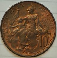 10 Centimes Dupuis 1916 Superbe - D. 10 Centimes