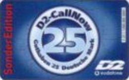 Germany - DM 25 Prepaidcard - 2001-04-01 - D2-CallNow - Vodafone - SonderEdition -due Date 05.03- V 27.1 - Deutschland
